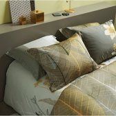Vandyck dekbedovertrek Chestnut gold - lits jumeaux (240x200/220 cm incl. 2 slopen)