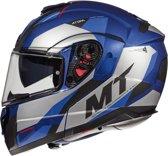 Helm MT Atom Transcend sv blauw M