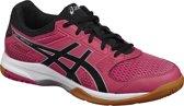 Asics Gel-Rocket 8 Sportschoenen - Maat 39.5 - Vrouwen - roze/zwart