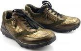Gabor Rollingsoft Dames Lage sneakers - Groen - Maat 38
