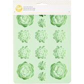 Wilton Silicone Candy Mold -Succulents-