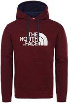 The North Face Drew Peak sweater heren bordeaux rood/beige