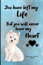 Pet Loss Journal Westie: Guided Prompt Keepsake Workbook