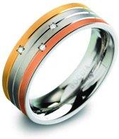 Boccia Titanium 0135-02 Ring - Titanium - Bicolor