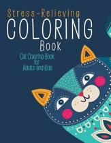Stress-Relieving Coloring Book