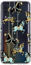 Casetastic Smartphone Hoesje Softcover Samsung Galaxy A50 (2019) - Carousel Horses