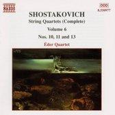 Shostakovich: String Quartets Vol 6 / eder Quartet