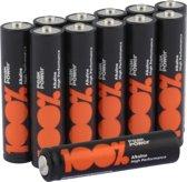 Batterijen AAA 12 Stuks [100% Peak Power]