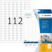 HERMA 10916 Wit Zelfklevend printerlabel printeretiket