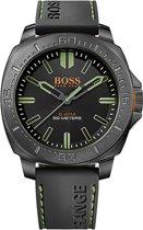 Hugo Boss HB1513254 Horloge - Siliconen - Zwart - 46 mm