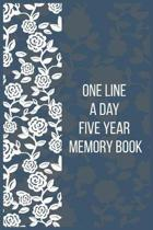 One Line a Day Five Year Memory Book