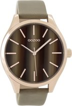 OOZOO Timepieces C9501 Rosé Taupe 42mm