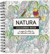 Kleurboek Natura, afm 19,5x23 cm, 64 pagina´s, 1 stuk