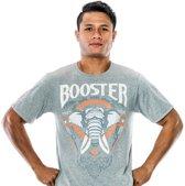 Booster Elephant Tee Grey-XXS