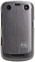 Case-Mate Barely There Brushed Aluminum Case voor de BlackBerry 9350/9360/9370 - Silver