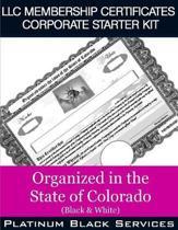 LLC Membership Certificates Corporate Starter Kit