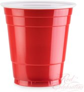 American Mini Red Cups - 260 ml - 100 stuks