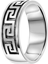 Lucardi - Zilveren ring Grieks