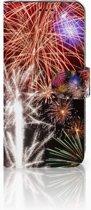 Huawei P20 Lite Smartphonehoesje Vuurwerk