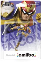 Nintendo amiibo Super Smash Figuur Captain Falcon - Wii U + NEW 3DS