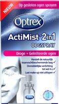 Optrex ActiMist 2 in 1 Oogspray Droge en Geïrriteerde Ogen - 10 ml