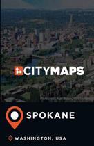 City Maps Spokane Washington, USA