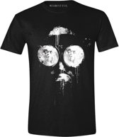 Resident Evil - Inked Mask Men T-Shirt - Black - M
