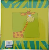 GOLDBUCH GOL-41034-G poesiealbum SAFARI giraffe als notitieboekje