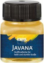 Javana gouden textielverf 20ml – Voor licht en donker gekleurd textiel