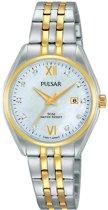 Pulsar PH7456X1 horloge dames - zilver en goud - edelstaal