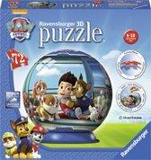 Ravensburger Paw Patrol puzzleball - 3D Puzzel - 72 stukjes