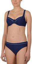 Badgoed Naturana-Beugel bikini-72360-Marine/Wit-B44
