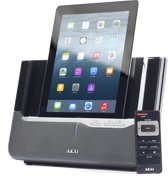 Akai ASB8I - iPod/iPhone/iPad Luidspreker/ Docking station - Zwart