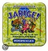 Pepermunt Blikje - Jarige oudere (incl. 70 gram pepermunt)