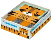 Wee gallery cloth books: tip toe tiger