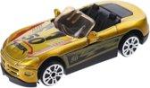 Johntoy Schaalmodel Super Cars Die-cast Geel 7 Cm