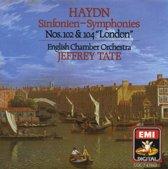 "Haydn: Symphonies Nos. 102 & 104 ""London"""