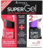 Rimmel London SuperGel DuoPack - 041 Darling Dahlia - Gel Nagellak