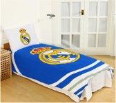 Real Madrid Dekbedovertrek - Eenpersoons - 140x200 cm