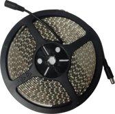 LED Strip 9,6 watt/m 540 lumen/m IP65 (waterbestendig) 12V warm wit LENGTE 5 METER