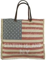 Mars & More tas shopper stars and stripes Amerikaanse vlag