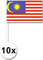 10 Maleisie zwaaivlaggetjes