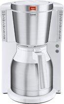 Melitta Look IV Therm De Luxe - Koffiezetapparaat - Wit