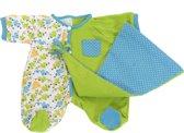 Rubens Barn Poppenkleertjes Rubens Baby Pyjama groen
