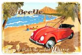 Nostalgic Art Metalen bord VW Beetle