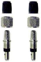 Fiets ventiel met Stofkapje (2 stuks)