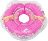 Roxy Kids – Zwemring Baby – Zwemkraag – Nekring opblaasbaar – Drijfring - Babyfloat – Babyswimmer – Flipper - BALLERINA 3-18 kg