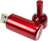 Wijnfles- USB-stick - 8 GB