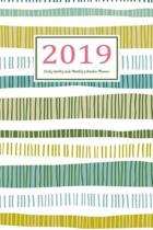 2019 Daily Weekly and Monthly Calendar Planner
