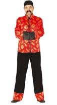 Aziatisch & Indisch Kostuum | Li Mandarijn Uit China Kostuum | Maat 48-50 | Carnaval kostuum | Verkleedkleding